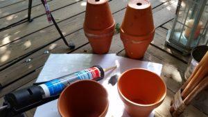 Bewässerung mit Ollas 2